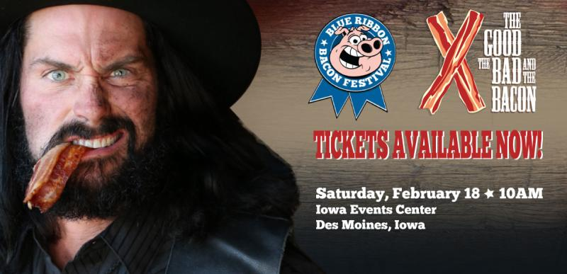 Blue Ribbon Bacon Festival - Events Page Ad