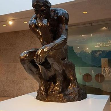 Rodin: The Thinker at the Winnipeg Art Gallery