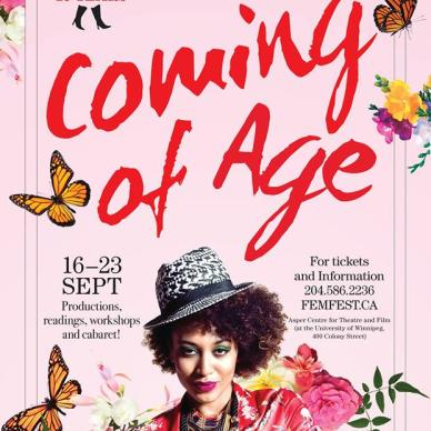 Sarasvàti Productions presents FemFest 2017: Coming of Age