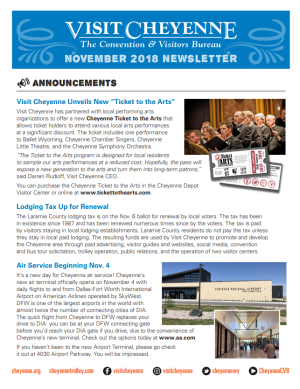 November Thumb newsletter 2018