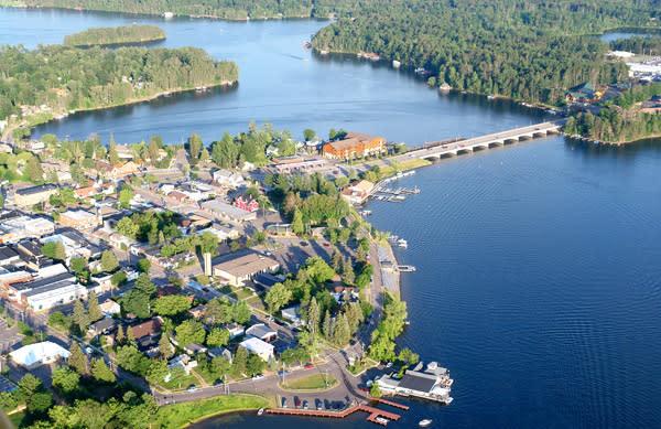 Lake Minocqua Aerial
