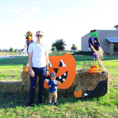 Pumpkins on the Prarie