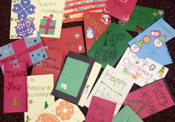cards for veterans - Christmas Cards For Veterans