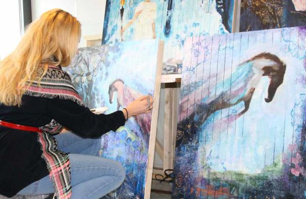 Artist Tove Hertzberg
