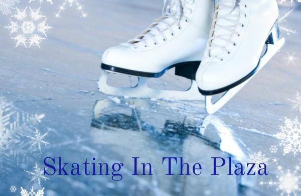 Ice Skating in the Plaza
