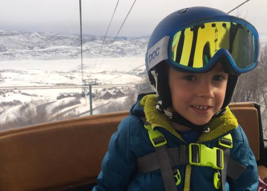 Skiing with Kids Blog Post