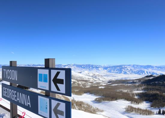 Georgeanna ski run - blog post