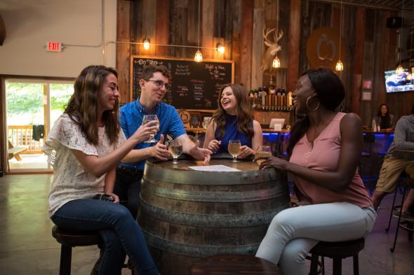 Cider Creek tasting room