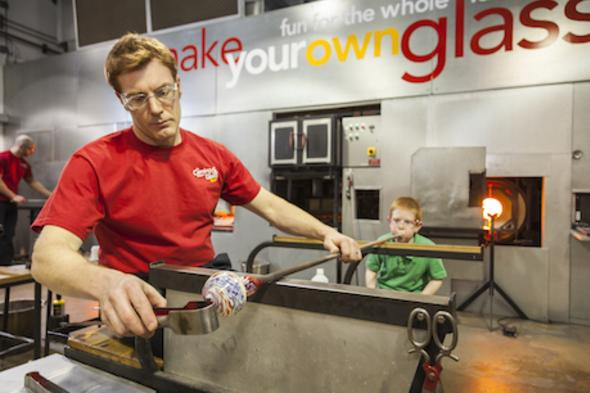 Make Your Own Glass - courtesy of The Corning Museum of Glass