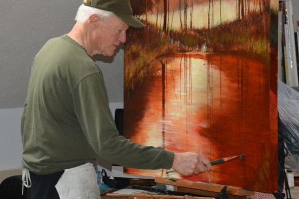 Jay Pullman Painting