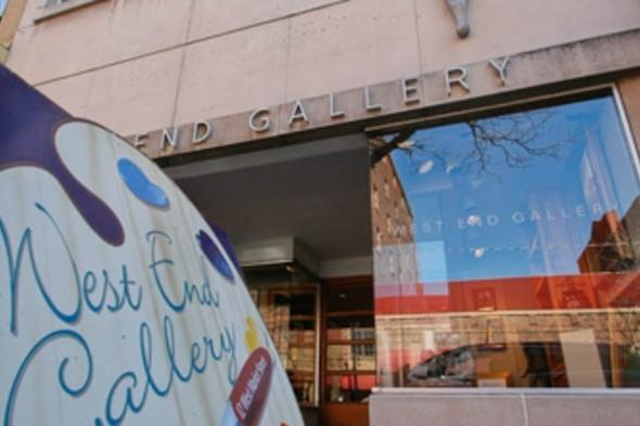 West End Gallery celebrates 38 years in business on Historic Market Street in Corning, NY!