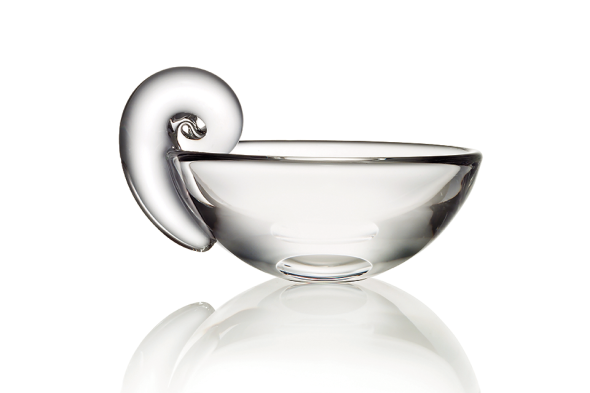 Steuben Olive Dish courtesy of The Corning Museum of Glass