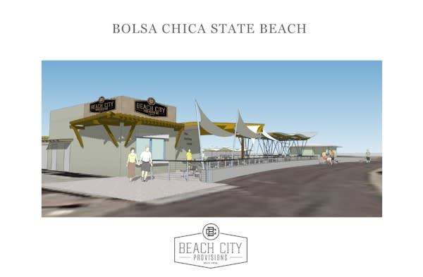 Beach City Provisions rendering of concessions design