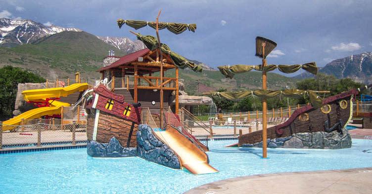 pirate swimming pool