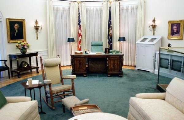 Oval Office Exhibit at the LBJ Presidential Library