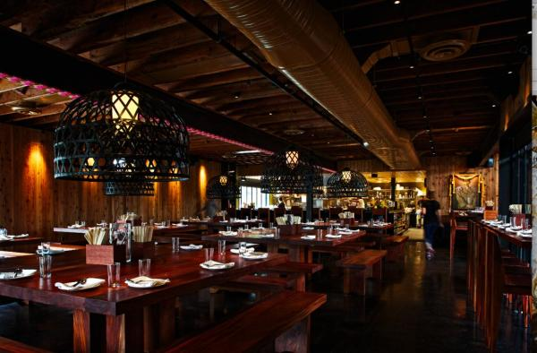 Sway restaurant interior