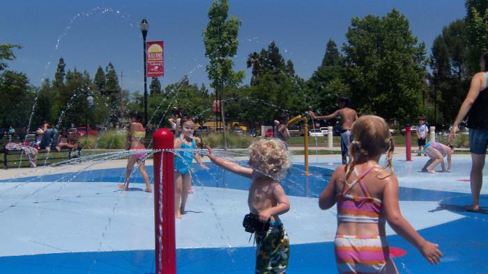 Sacramento Splash Pad