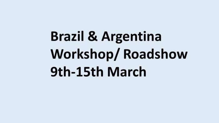Brazil blue background workshop2020
