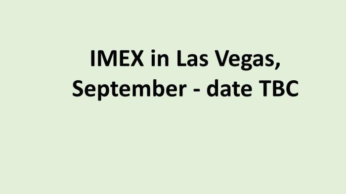 IMEX Las Vegas
