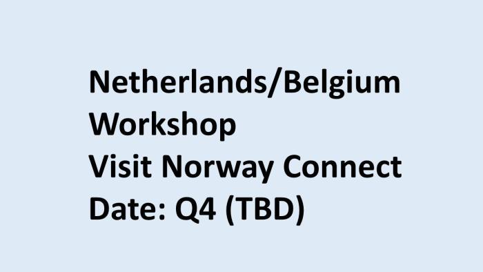 Netherland workshop 2020