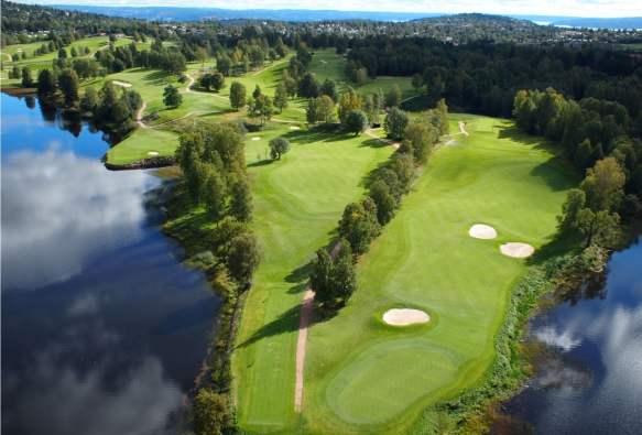 Karta Over Golfbanor I Sverige.Golf I Norge Svinga Klubban Under Midnattssolen