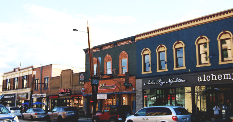 Bernard Avenue Shopping