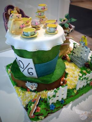 Mad Hatter Gingerbread at George Eastman Museum