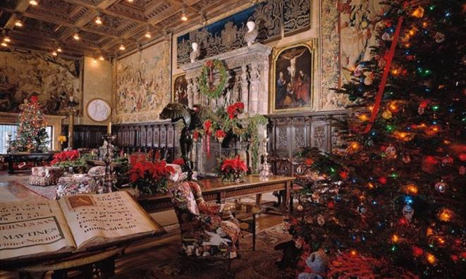Hearst Castle Holiday Twilight Tours