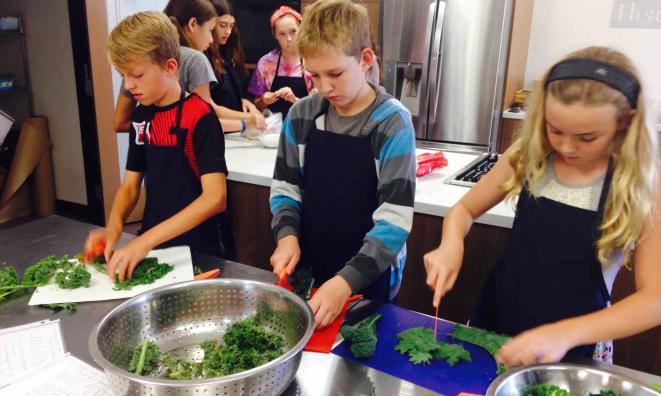 Kids Cooking Program - Ages 8-12