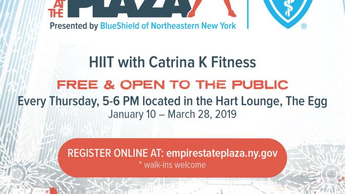 Fitness At The Plaza Presented By Blueshield Of Northeastern New York