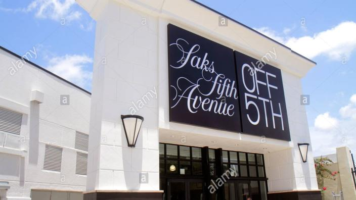SAKS FIFTH AVENUE OFF 5TH AT THE COLONNADE OUTLETS | Sunrise
