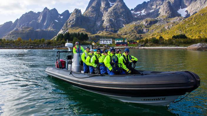 Sea Eagle Safari to Trollfjorden