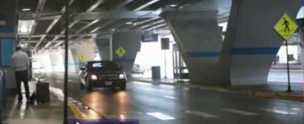 Airport arrival transportation procedure