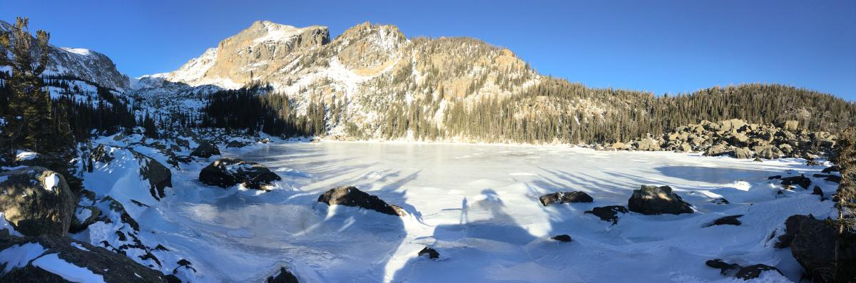 Lake Haiyaha Hike of the Week Panorama
