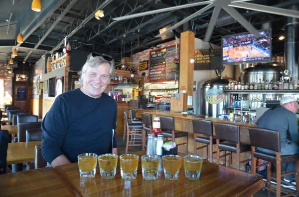 Inside the Huntington Beach Beer Co.