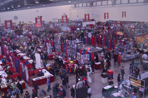 Grand Rapids Comic-Con 2015 Aerial View