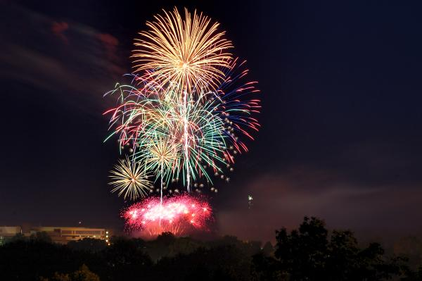 Eau Claire Fireworks
