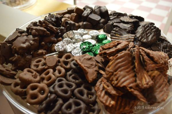 Angell and Phelps Chocolate Plate
