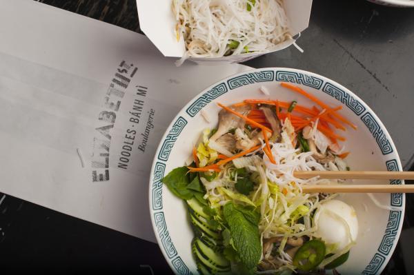 Noodles at Elizabeth Street Cafe