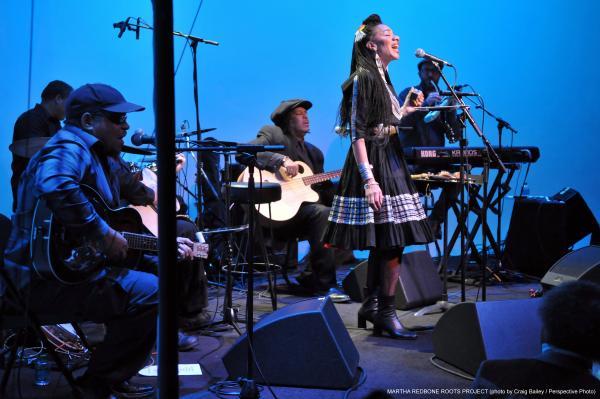 Martha Redbone performance