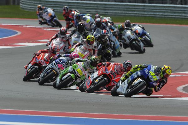 MotoGP at Circuit of The Americas track