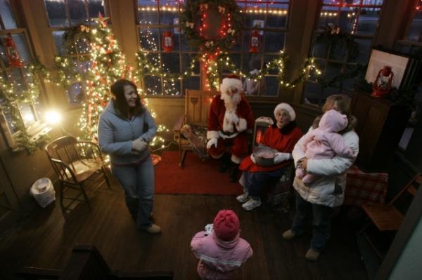 Santa's Express Ag Hall 2