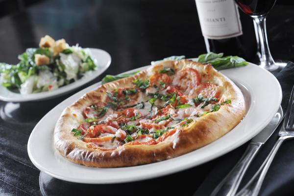 Margherita Pizza at Casa