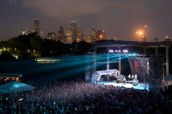 Concert at White Oak Music Hall, Houston