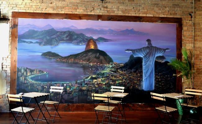 Rio Mural- Lucy's Brazilian Kitchen