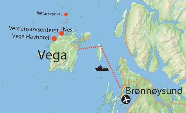 Opplev verdensarvøya Vega