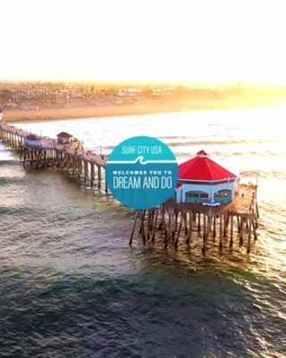Visit Huntington Beach Welcome