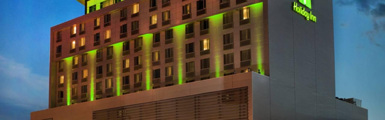 Holiday Inn Saskatoon Downtown Exterior Night Shot  HIGH RES