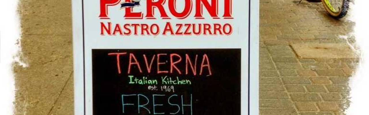 Taverna sandwich board