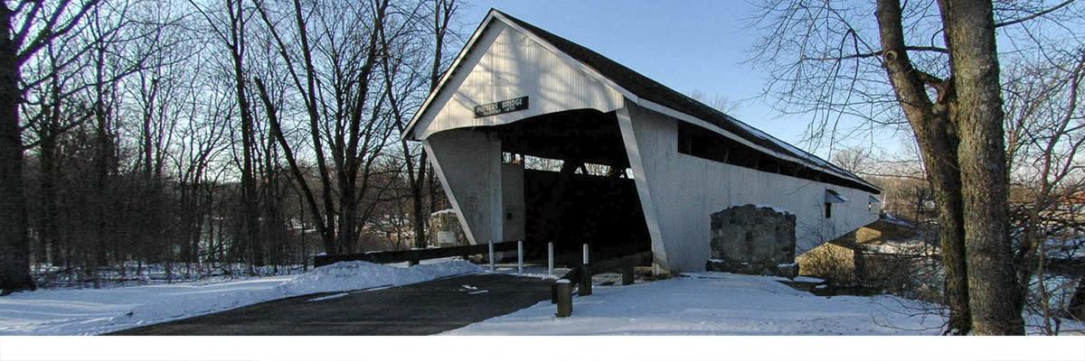 Potter's Bridge snow